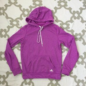 Adidas Purple Hoodie ClimaWarm Pullover Womens S
